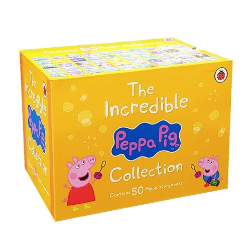 [★365할인] The Incredible Peppa Pig Collection : 픽쳐북 50종 Yellow Box Set (Paperback, 영국판) (CD없음)