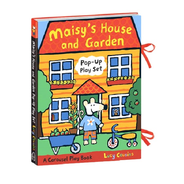 Maisys House and Garden : A Maisy Pop-up-and-Play Set (Hardcover)