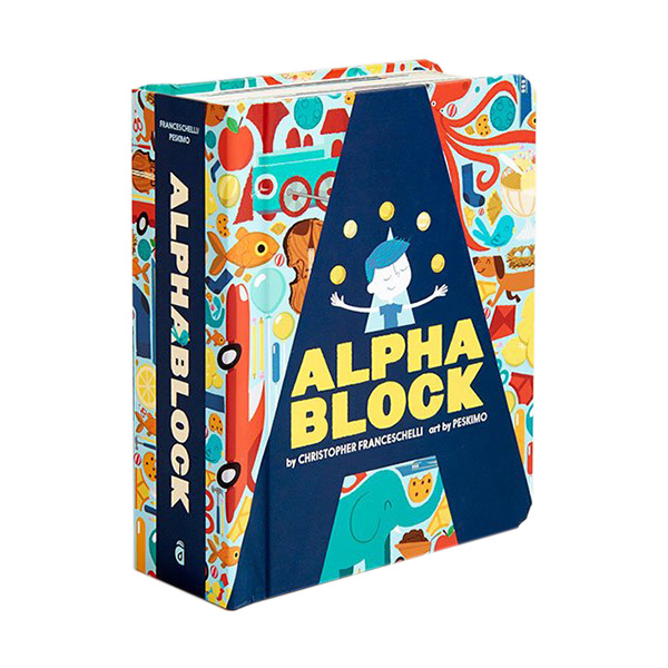 [베스트★] Alphablock : Block Book (Board book)