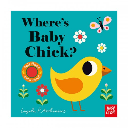 Where's Baby Chick? : Felt Flap Book (Board book, 영국판)
