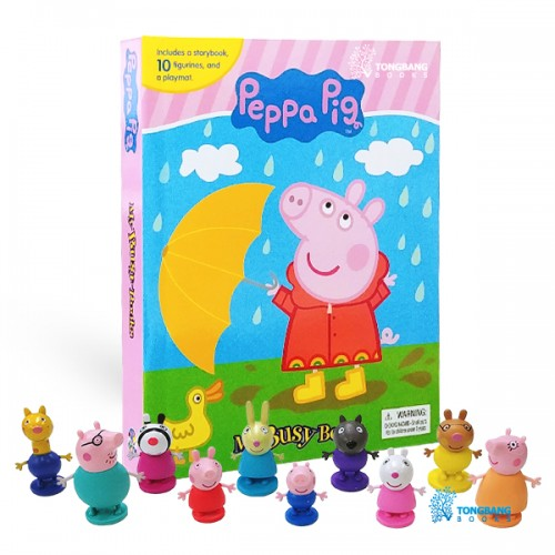 [베스트★] My Busy Books : Peppa Pig (Board book+Figures)