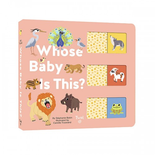 Whose Baby is This? (Board book)
