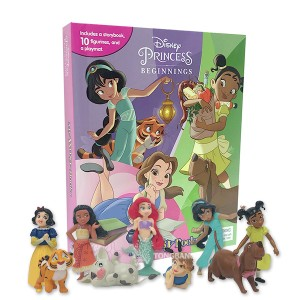 My Busy Books : Disney Princess Beginnings (Board book)