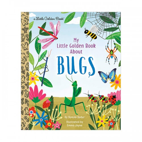 Little Golden Book : My Little Golden Book About Bugs (Hardcover)