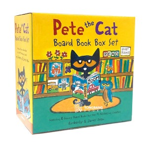Pete the Cat 8 Board Book Box Set (Board book)(CD없음)