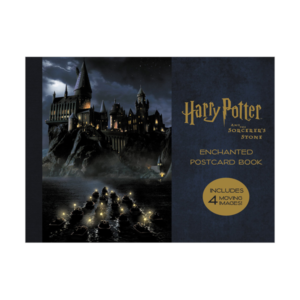 Harry Potter and the Sorcerer's Stone Enchanted Postcard Book (Cards)