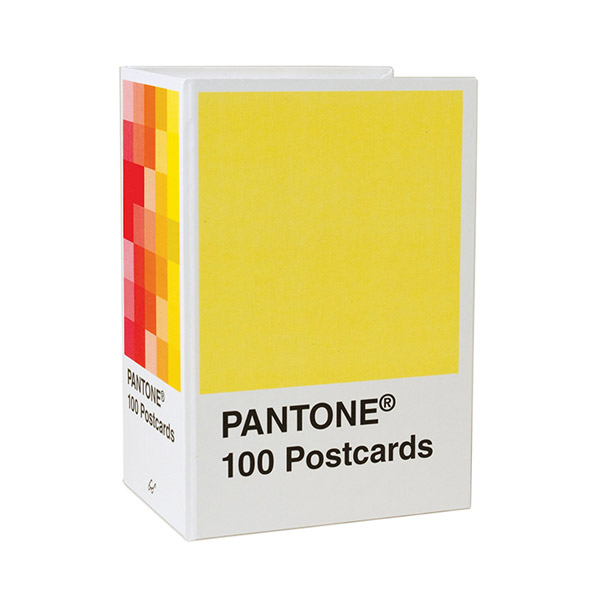 [베스트★] Pantone Postcard Box : 100 Postcards (Boxed)