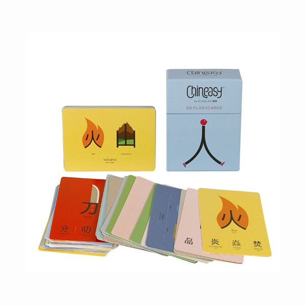 Chineasy™ 60 Flashcards (Cards)