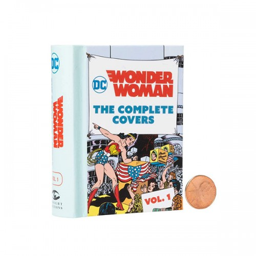 DC Comics: Wonder Woman: The Complete Covers Vol. 1 (Hardcover)