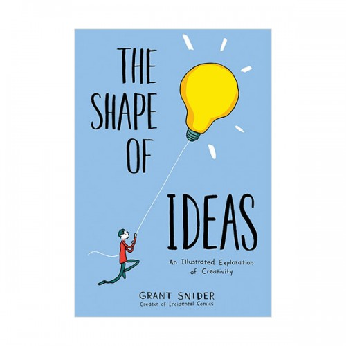 The Shape of Ideas : An Illustrated Exploration of Creativity (Hardcover)