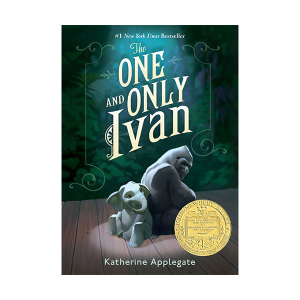 [★포스터 증정][2013 뉴베리] The One and Only Ivan (Paperback)