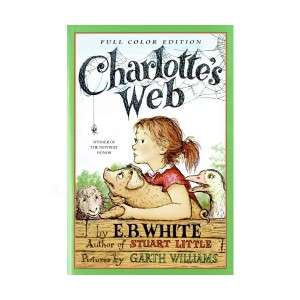 [★포스터 증정] [베스트★] [1953 뉴베리] Charlotte's Web (Paperback, Full Color)