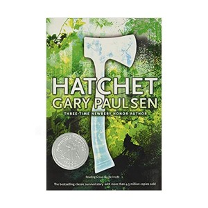 [★포스터 증정] [1988 뉴베리] A Hatchet Adventure #01 : Hatchet (Paperback)