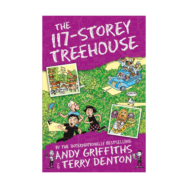 [베스트★] 나무집 117층 : The 117-Storey Treehouse Books (Paperback, 영국판)