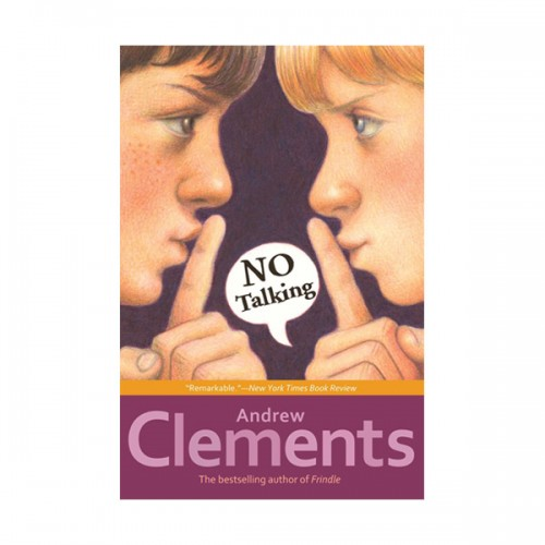 RL 5.0 : Andrew Clements : No Talking (Paperback)