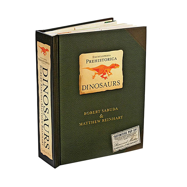 Encyclopedia Prehistorica : Dinosaurs Pop-Up Book (Hardcover)