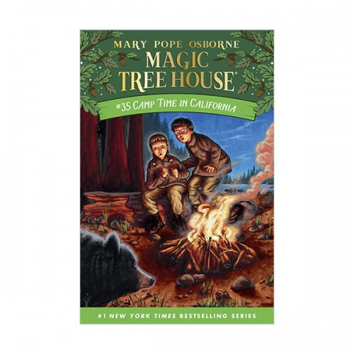 Magic Tree House #35 : Camp Time in California (Hardcover)