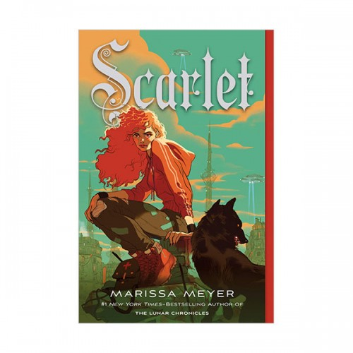 The Lunar Chronicles #02 : Scarlet (Paperback)